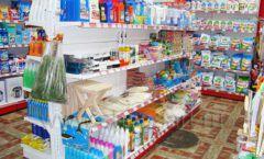 Торговое оборудование в магазине Гранат ТОРГОВЫЕ СТЕЛЛАЖИ Фото 05