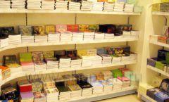 Торговое оборудование отдела игрушек детского магазина Винни ТЦ Юнимолл ЦВЕТНЫЕ МЕТАЛЛИЧЕСКИЕ СТЕЛЛАЖИ Фото 26