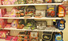Торговое оборудование отдела игрушек детского магазина Винни ТЦ Юнимолл ЦВЕТНЫЕ МЕТАЛЛИЧЕСКИЕ СТЕЛЛАЖИ Фото 29