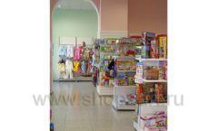 Торговое оборудование в детском магазине Гоша ЦВЕТНЫЕ МЕТАЛЛИЧЕСКИЕ СТЕЛЛАЖИ Фото 10