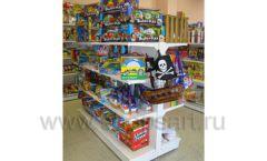 Торговое оборудование в детском магазине Гоша ЦВЕТНЫЕ МЕТАЛЛИЧЕСКИЕ СТЕЛЛАЖИ Фото 12