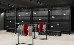 Дизайн интерьера магазина одежды Funky Dunky Москва торговое оборудование ЛОФТ Дизайн 05
