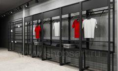 Дизайн интерьера магазина одежды Funky Dunky Москва торговое оборудование ЛОФТ Дизайн 06
