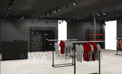 Дизайн интерьера магазина одежды Funky Dunky Москва торговое оборудование ЛОФТ Дизайн 07