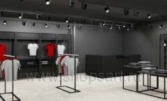 Дизайн интерьера магазина одежды Funky Dunky Москва торговое оборудование ЛОФТ Дизайн 08