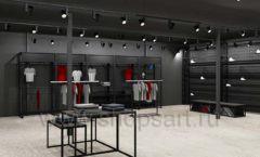 Дизайн интерьера магазина одежды Funky Dunky Москва торговое оборудование ЛОФТ Дизайн 09