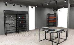 Дизайн интерьера магазина одежды Funky Dunky Москва торговое оборудование ЛОФТ Дизайн 12
