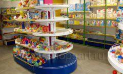 Торговое оборудование магазина в Green park ЦВЕТНЫЕ МЕТАЛЛИЧЕСКИЕ СТЕЛЛАЖИ Фото 12