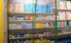Торговое оборудование магазина в Green park ЦВЕТНЫЕ МЕТАЛЛИЧЕСКИЕ СТЕЛЛАЖИ Фото 13