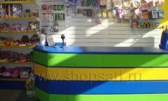 Торговое оборудование магазина в Green park ЦВЕТНЫЕ МЕТАЛЛИЧЕСКИЕ СТЕЛЛАЖИ Фото 17