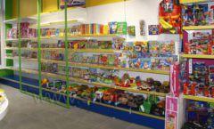 Торговое оборудование магазина в Green park ЦВЕТНЫЕ МЕТАЛЛИЧЕСКИЕ СТЕЛЛАЖИ Фото 18