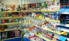 Торговое оборудование магазина в Green park ЦВЕТНЫЕ МЕТАЛЛИЧЕСКИЕ СТЕЛЛАЖИ Фото 20