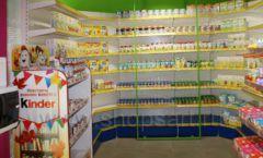 Торговое оборудование магазина в Green park ЦВЕТНЫЕ МЕТАЛЛИЧЕСКИЕ СТЕЛЛАЖИ Фото 25