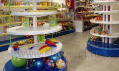 Торговое оборудование магазина в Green park ЦВЕТНЫЕ МЕТАЛЛИЧЕСКИЕ СТЕЛЛАЖИ Фото 26