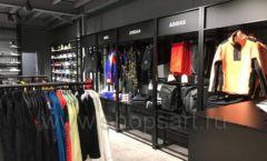 Торговое оборудование магазина одежды Funky Dunky ЛОФТ Фото 02