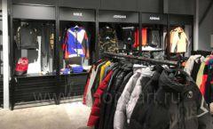 Торговое оборудование магазина одежды Funky Dunky ЛОФТ Фото 03