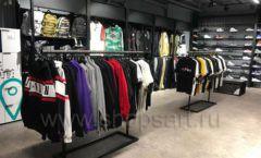 Торговое оборудование магазина одежды Funky Dunky ЛОФТ Фото 13