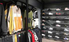 Торговое оборудование магазина одежды Funky Dunky ЛОФТ Фото 24