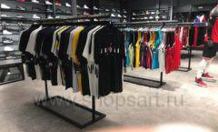 Торговое оборудование магазина одежды Funky Dunky ЛОФТ Фото 27