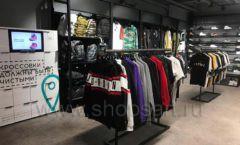 Торговое оборудование магазина одежды Funky Dunky ЛОФТ Фото 28