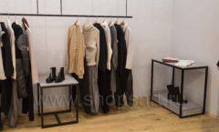 Торговое оборудование магазина одежды Yuki Yan ЛОФТ Фото 1