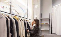 Торговое оборудование магазина одежды Yuki Yan ЛОФТ Фото 3