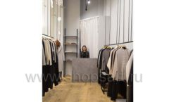 Торговое оборудование магазина одежды Yuki Yan ЛОФТ Фото 7