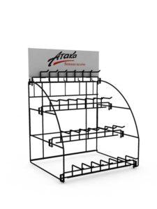 Подвесной модуль для брендированного стеллажа АТАКА торговое оборудование БРЕНДОВЫЕ СТЕЛЛАЖИ