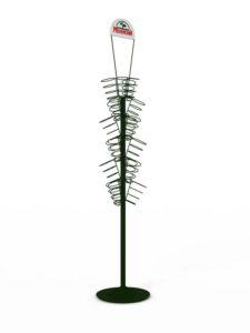 Брендированная сетчатая стойка для зелени торговое оборудование БРЕНДОВЫЕ СТЕЛЛАЖИ