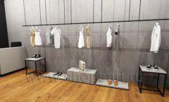 Дизайн интерьера магазина одежды Yuki Yan Москва торговое оборудование ЛОФТ Дизайн 02