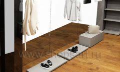 Дизайн интерьера магазина одежды Yuki Yan Москва торговое оборудование ЛОФТ Дизайн 09