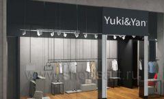 Дизайн интерьера магазина одежды Yuki Yan Москва торговое оборудование ЛОФТ Дизайн 11
