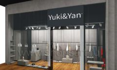 Дизайн интерьера магазина одежды Yuki Yan Москва торговое оборудование ЛОФТ Дизайн 12
