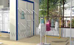 Дизайн интерьера детского магазина Жёлтый слон коллекция РАДУГА Дизайн 10