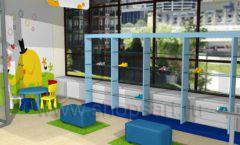 Дизайн интерьера детского магазина Жёлтый слон коллекция РАДУГА Дизайн 11