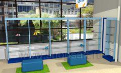 Дизайн интерьера детского магазина Жёлтый слон коллекция РАДУГА Дизайн 12