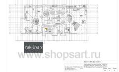 Дизайн проект магазина одежды Yuki Yan Москва торговое оборудование ЛОФТ Лист 04