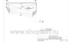 Дизайн проект магазина одежды Yuki Yan Москва торговое оборудование ЛОФТ Лист 05