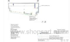 Дизайн проект магазина одежды Yuki Yan Москва торговое оборудование ЛОФТ Лист 06