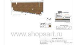 Дизайн проект магазина одежды Yuki Yan Москва торговое оборудование ЛОФТ Лист 07