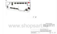 Дизайн проект магазина одежды Yuki Yan Москва торговое оборудование ЛОФТ Лист 09