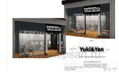Дизайн проект магазина одежды Yuki Yan Москва торговое оборудование ЛОФТ Лист 21