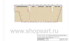 Дизайн проект детского магазина Желтый слон Сургут торговое оборудование РАДУГА Лист 04