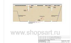 Дизайн проект детского магазина Желтый слон Сургут торговое оборудование РАДУГА Лист 07