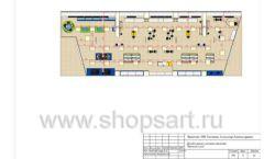 Дизайн проект детского магазина Желтый слон Сургут торговое оборудование РАДУГА Лист 08