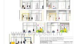 Дизайн проект детского магазина Желтый слон Сургут торговое оборудование РАДУГА Лист 11