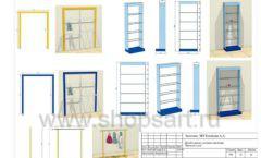Дизайн проект детского магазина Желтый слон Сургут торговое оборудование РАДУГА Лист 12