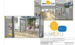 Дизайн проект детского магазина Желтый слон Сургут торговое оборудование РАДУГА Лист 27