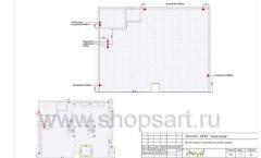 Дизайн проект детского магазина ЁМАЁ Хабаровск торговое оборудование РАДУГА Лист 09