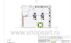 Дизайн проект детского магазина ЁМАЁ Хабаровск торговое оборудование РАДУГА Лист 10